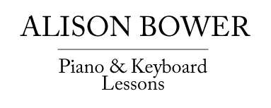 Alison Bower Piano and Keyboard Lessons